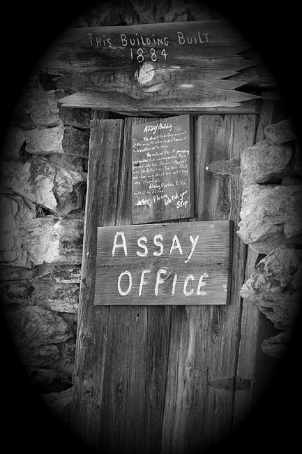 Assay Office Door