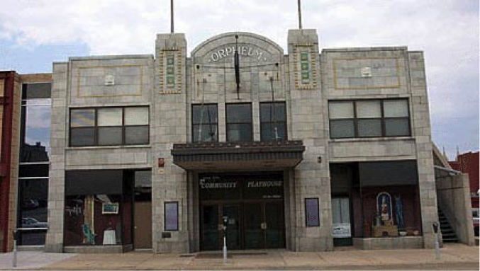 Orpheum Theater Sioux Falls, South Dakota