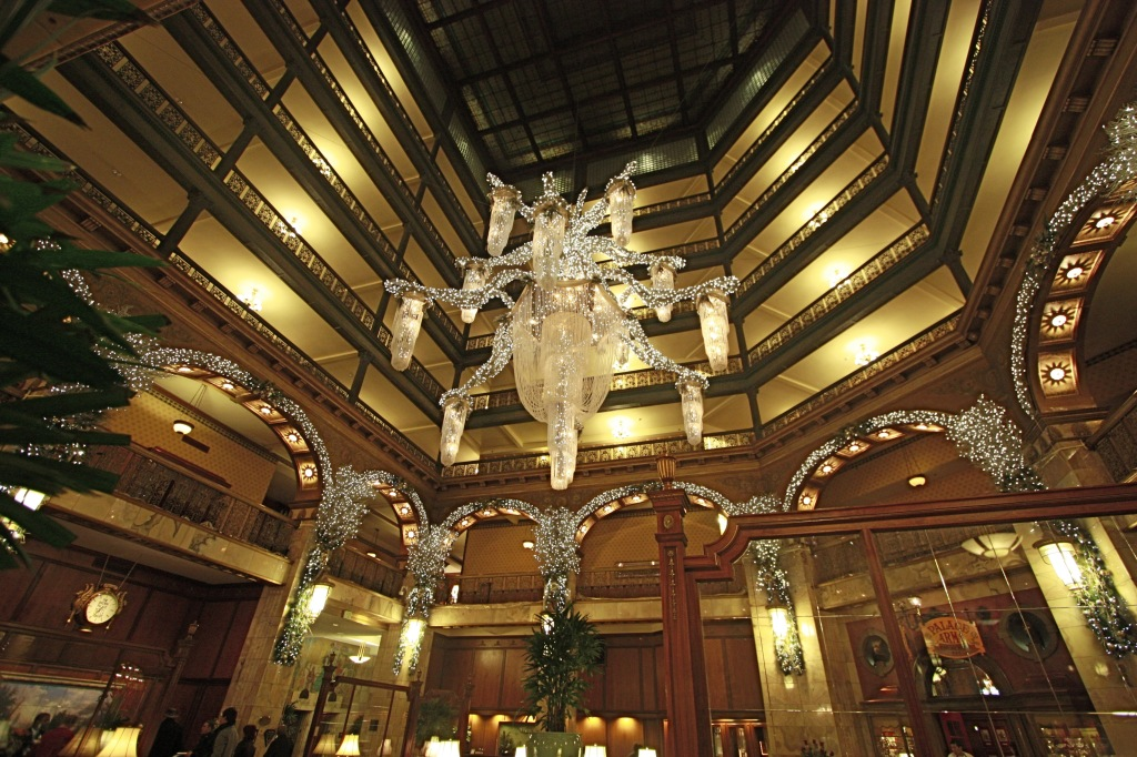 Atrium Interior of Brown Palace