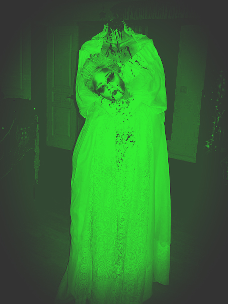 The Headless Bride Captured with NightVision Camera