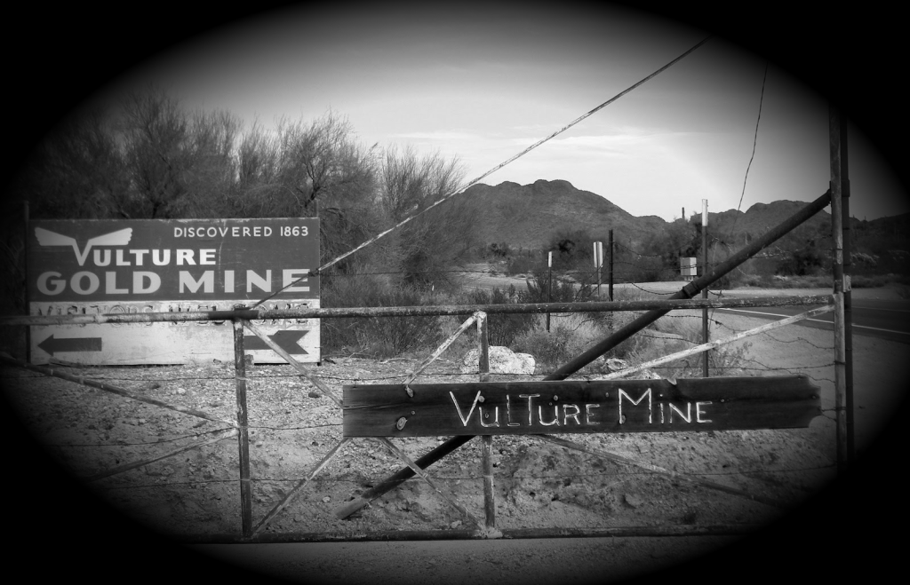 Entrance to Vulture Mine